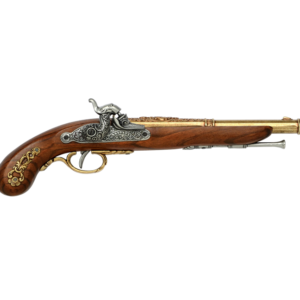 French Duelling Pistol Solid Brass (1832)